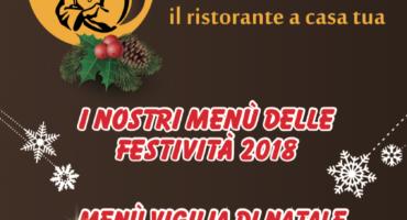 Menù delle festività 2018