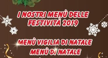 Menù delle festività 2019